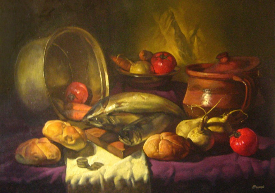 Still Life with Fish II