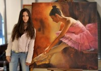 The Artist, the Model and the Painting
