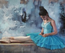 The Blue Ballerina II