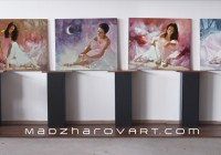 THE LASTEST BALLERINA PAINTINGS