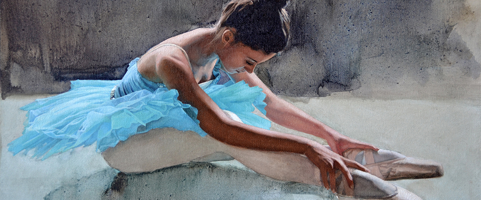 Slide_The-blue-ballerinaII_2013_45x60cm