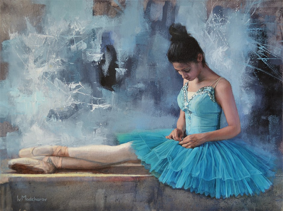 The Blue Ballerina II